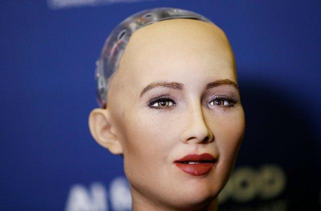 Image result for sophia robot