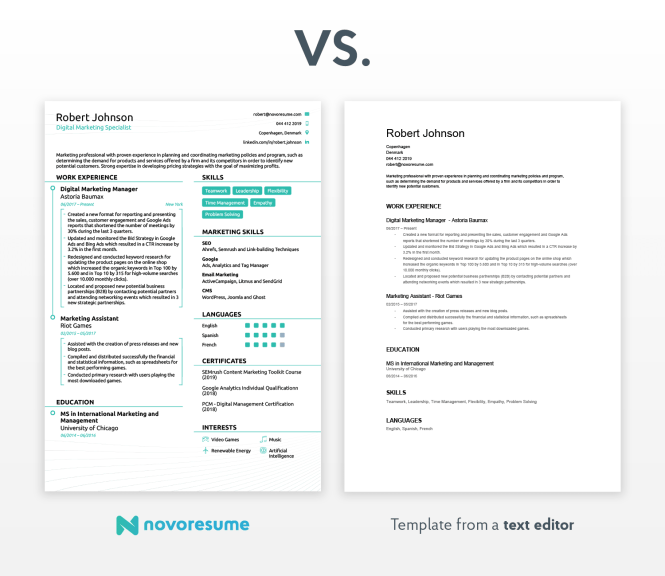 How To Write A Resume Professional