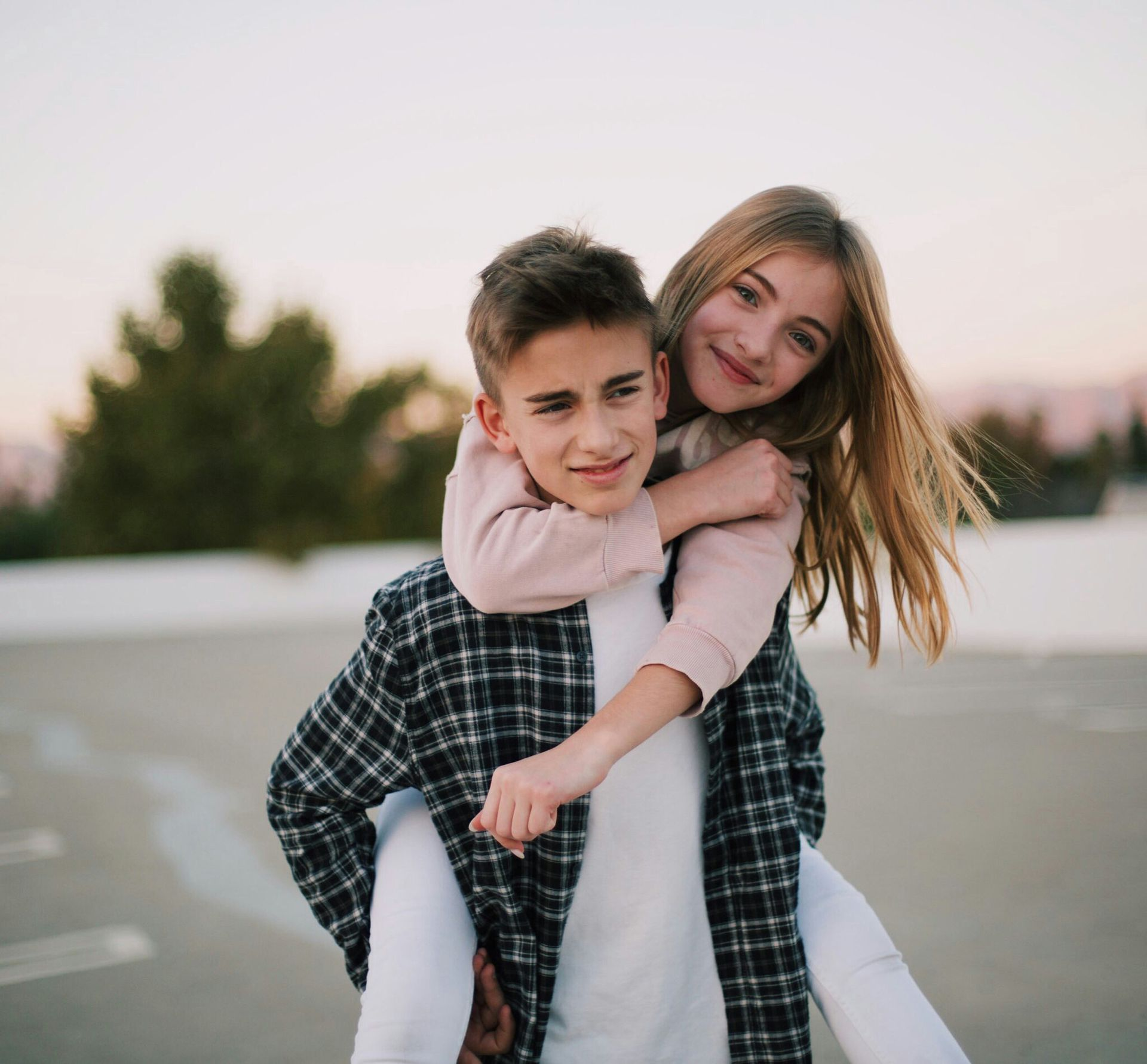 2017 Johnny Orlando His Sister