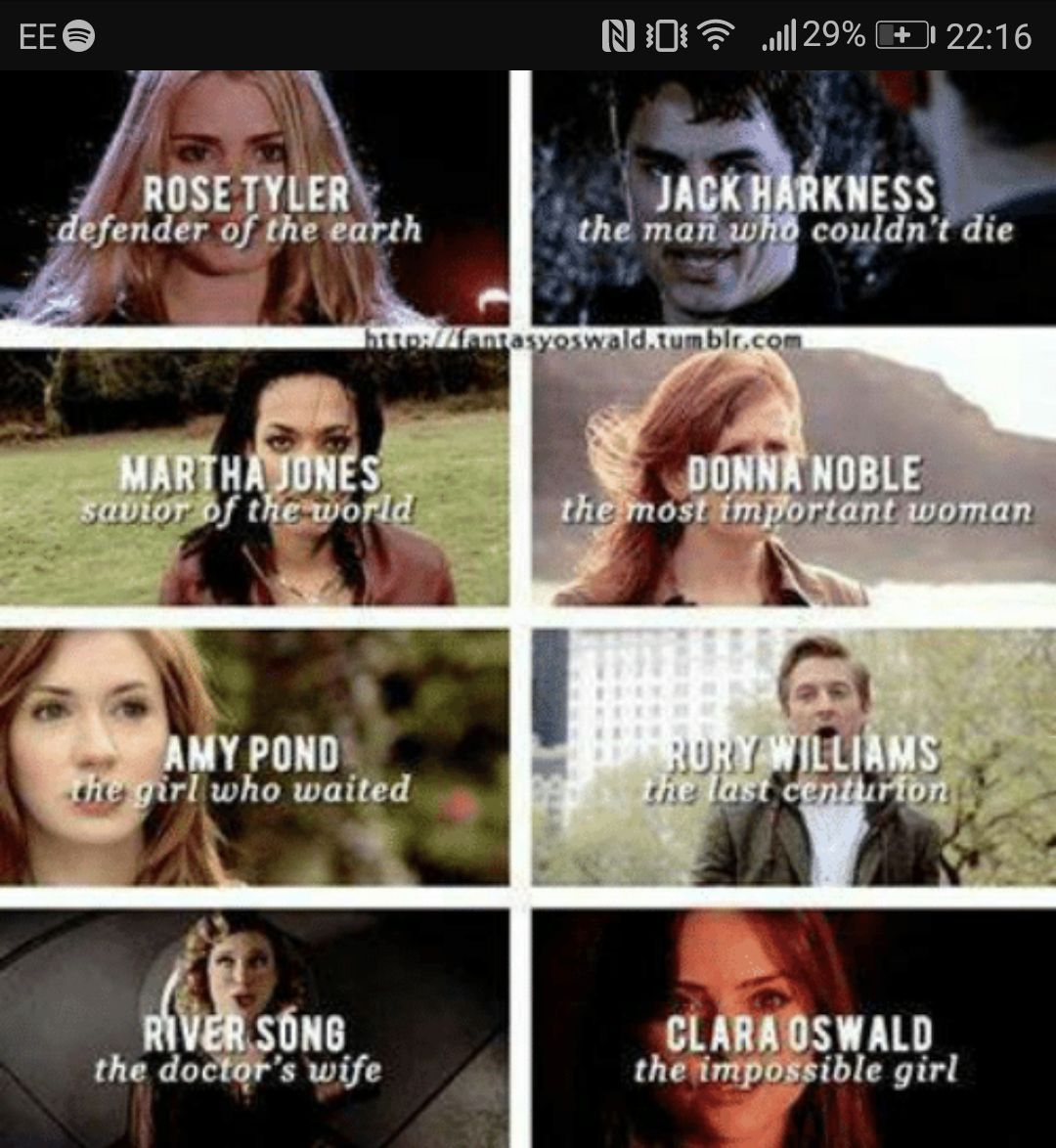 Bec Don T Leave Me Hanging The Doctor Used To Be Like Clara Be