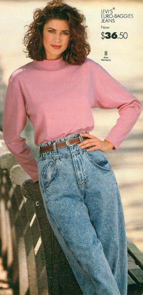 Image result for jeans from 80s movies