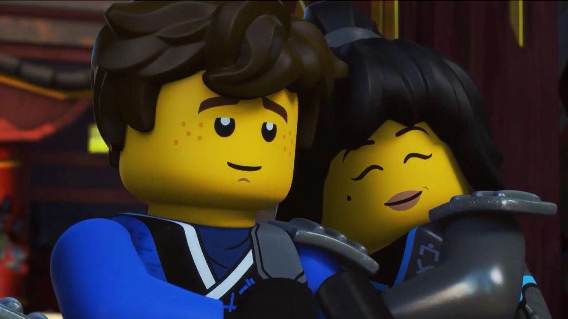 Lego Ninjago Jay Nya - Novocom.top