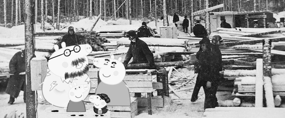 Peppa Pig Visit To Communist Russia Gulag Into The Future Wattpad