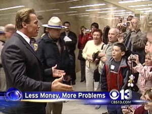 Schwarzenegger: More Pay Cuts For State Workers