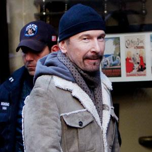 U2's The Edge: Malibu's Least Wanted