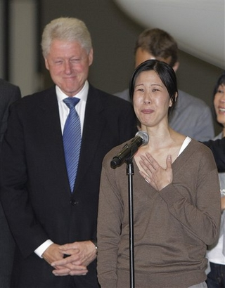 Laura Ling, an American journalist arrested in ...