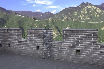 The Great Wall of China gets a little bit greater ...