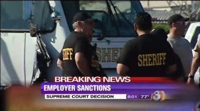 Supreme Court backs Arizona immigration law that punishes businesses