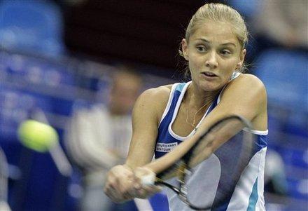 Anna Chakvetadze Of Russia Returns