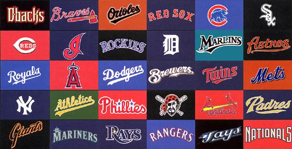 mlb team logos