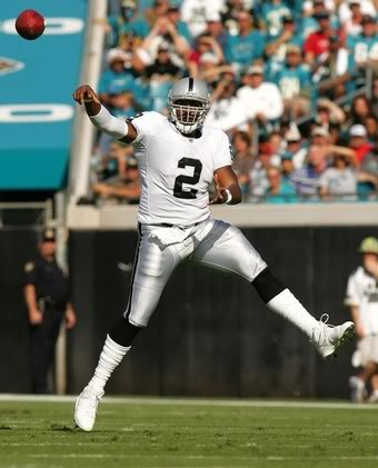 Jamarcus Russell over throw