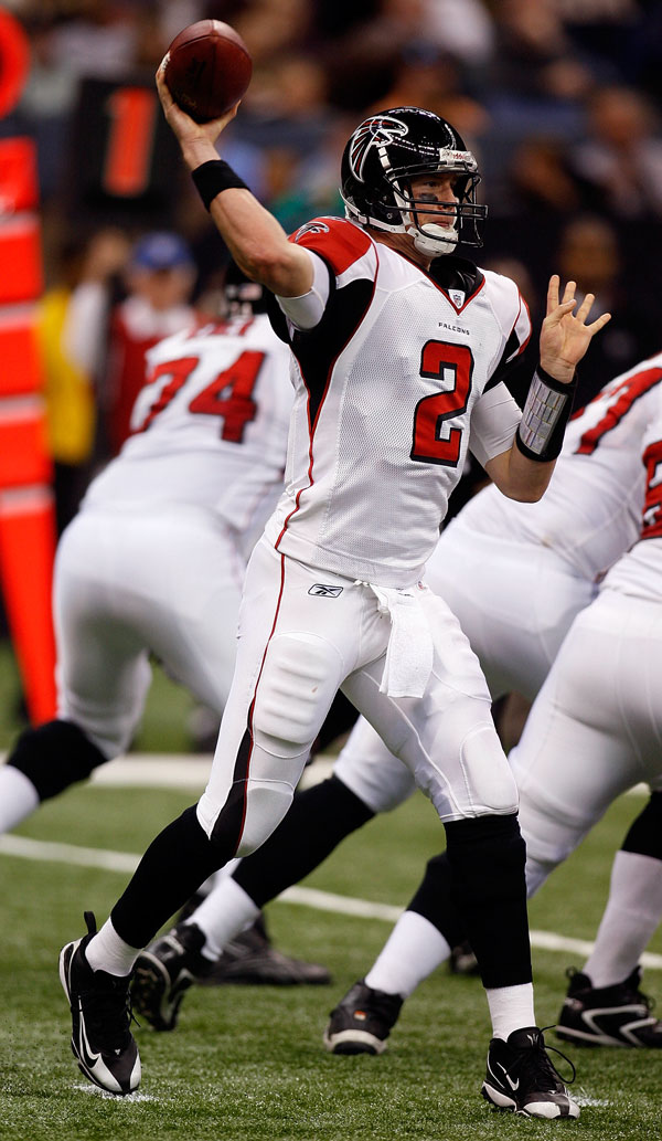 Matt Ryan Throwing Falcons
