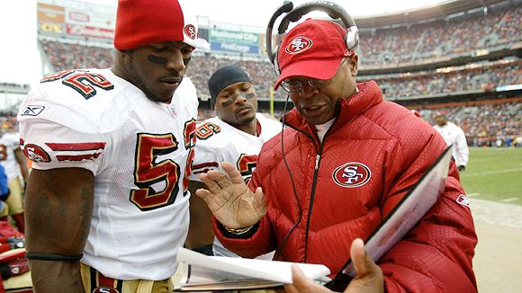 I doubt Patrick Willis is questioning much Singletary has to say on improvements to his game.