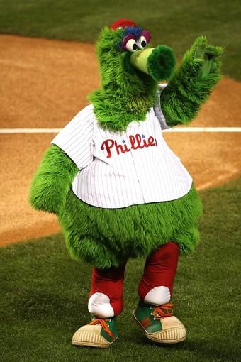 Phillie Phanatic Phillies Mascot