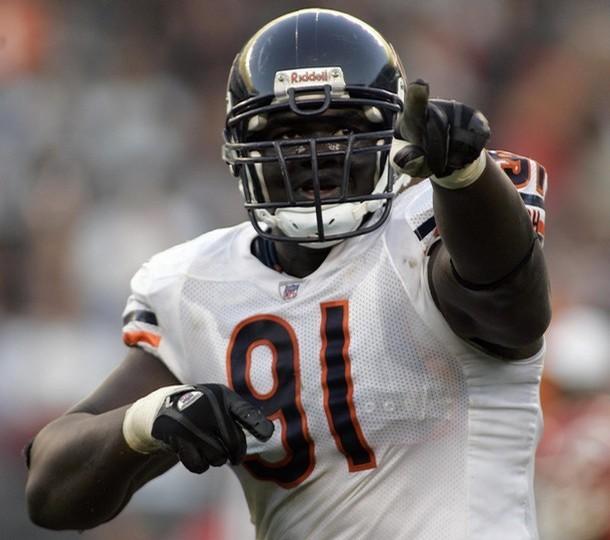 Tommie Harris Chicago Bears