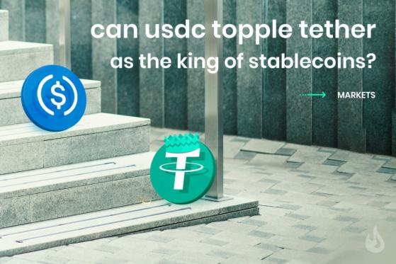 Can USDC Topple Tether As The King Of Stablecoins?