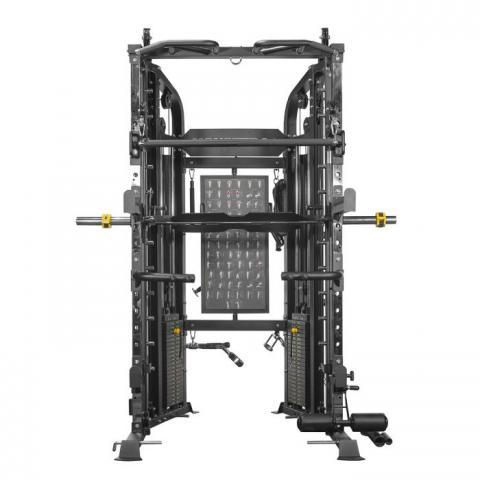 monster g6 power rack functional trainer smith machine combo