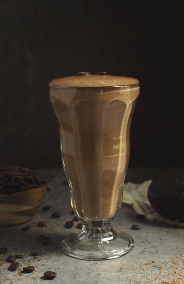 Low carb mocha smoothie