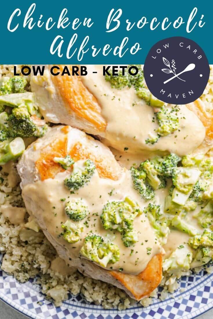 Keto Chicken Broccoli Alfredo