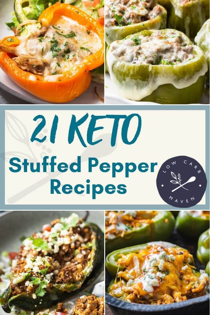 21 Best Keto Stuffed Peppers Recipes