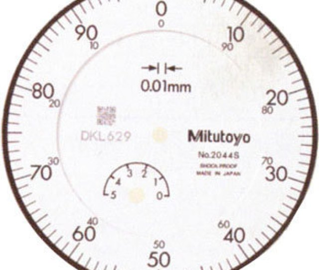 Standard Dial Indicator 0 01mm Scale Mark