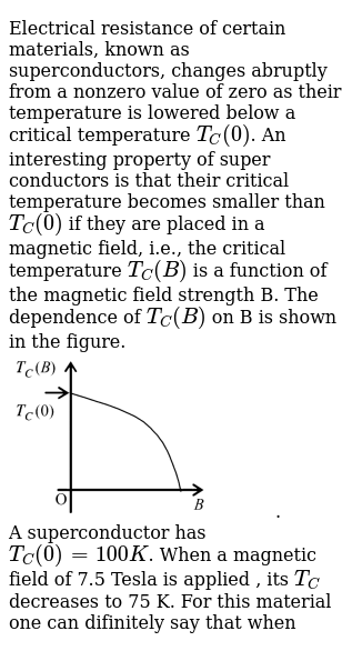Electrical Resistance Of Certain Materials Known As