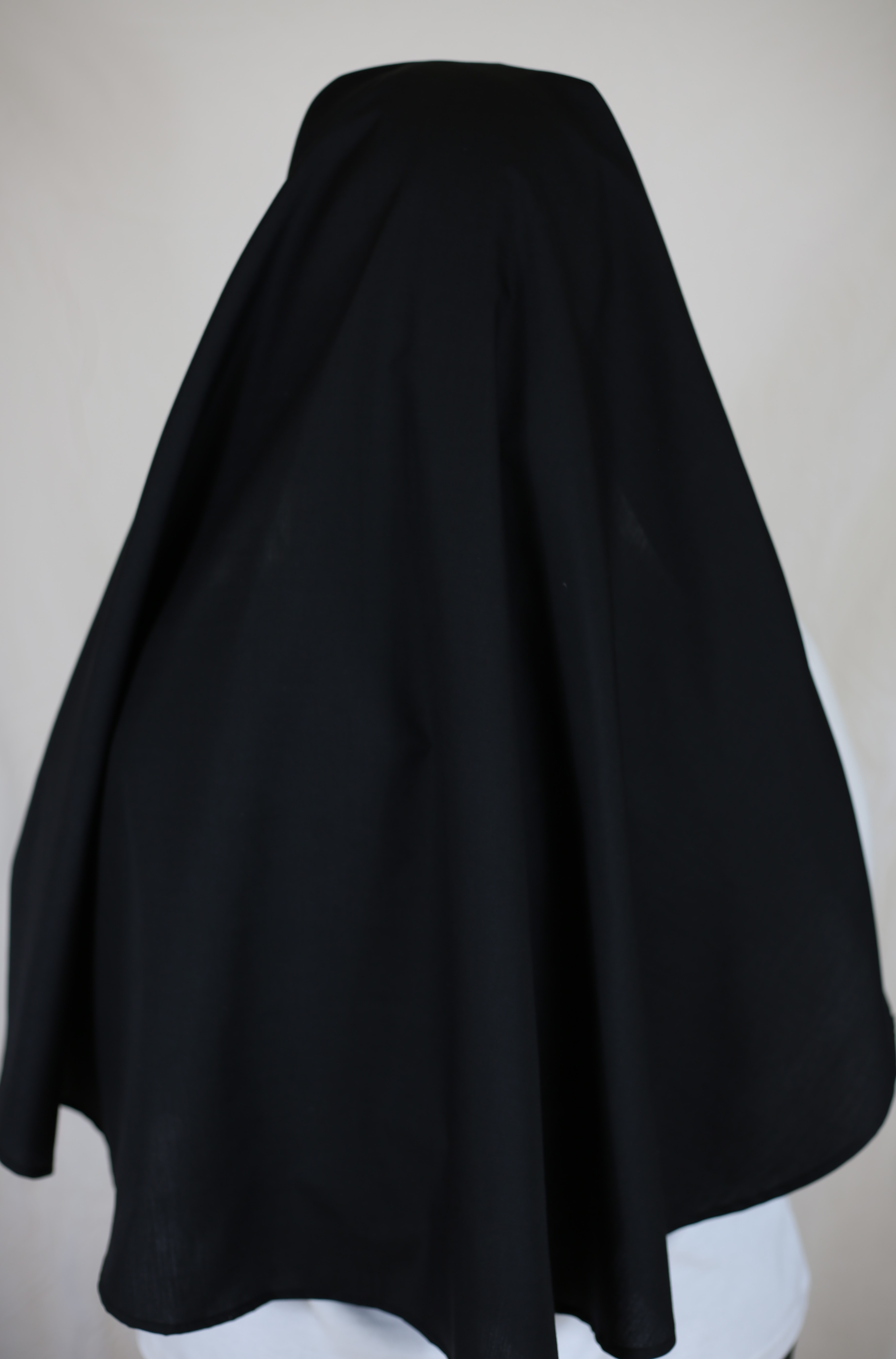 Nun Veil With Extra Wide White Trim From Tide Commercial