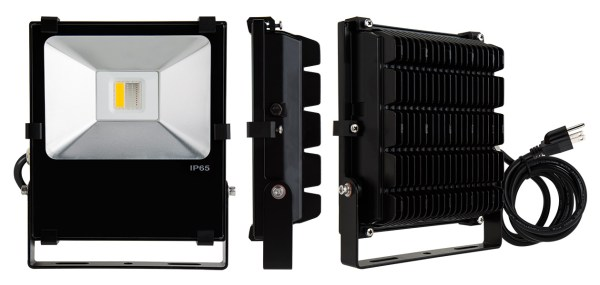 RGBW LED flood lights housing