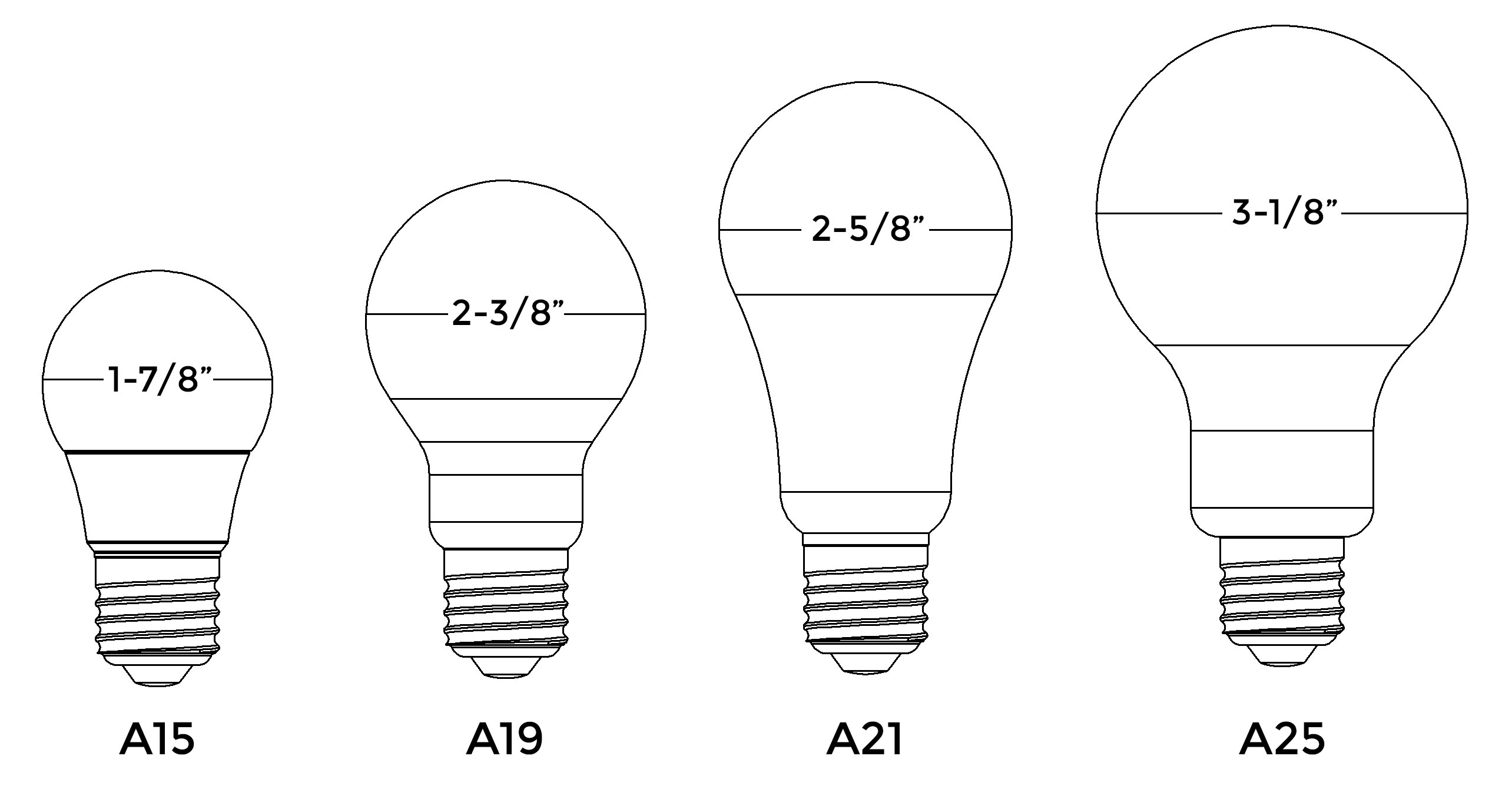Medium Base Vs Standard Base Light Bulb