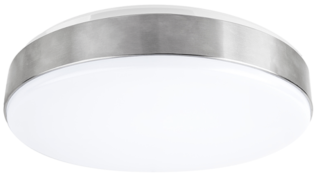 Flush Mount LED Ceiling Light Sports Low Profile Design   Super     flush mount led ceiling light   low profile   front and side
