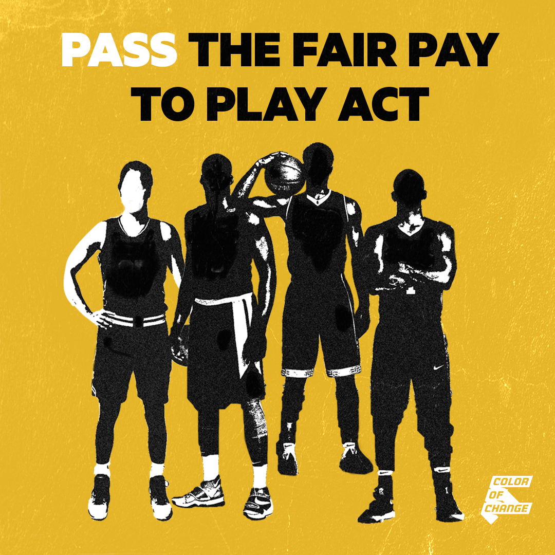 Tell California Legislators Pass The Fair Pay To Play Act
