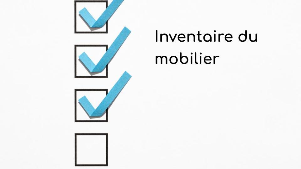 Inventaire Du Mobilier A L Etat Des Lieux