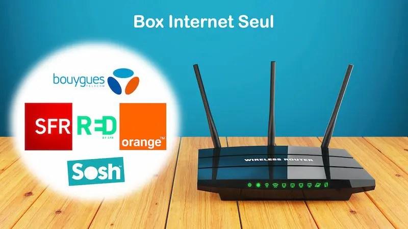 box internet seul comparatif des