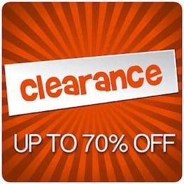Clearance Category Page