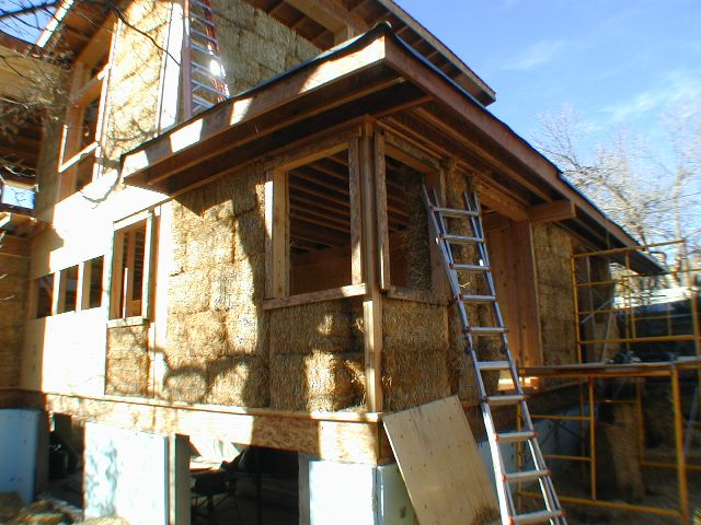 Hay Bale House Sebastopol