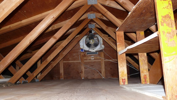 mastering roof inspections attic