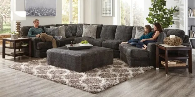 how to fit a sectional to your space