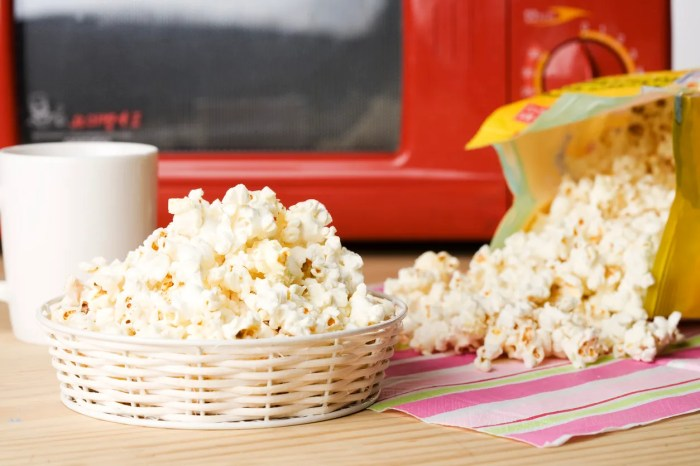 get rid of burnt popcorn smell in