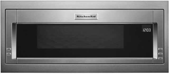 kitchenaid 29 75 stainless steel built in microwave with trim kit kmbt5011kss