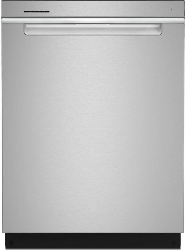 whirlpool 24 fingerprint resistant stainless steel built in dishwasher wdta50sakz