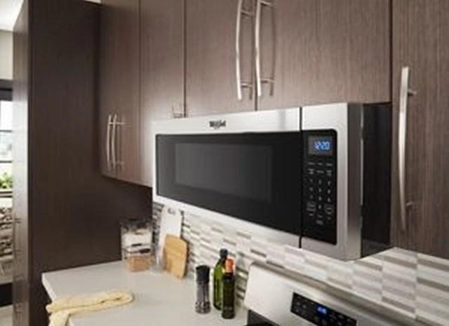 whirlpool 1 1 cu ft stainless steel low profile microwave hood combination wml35011ks