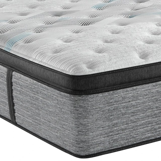 beautyrest harmony lux carbon series plush pillow top king mattress 700810909 1060