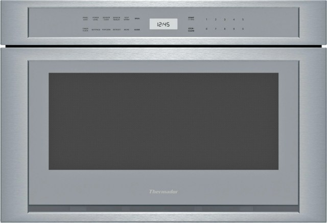 thermador masterpiece microdrawer built in microwave stainless steel md24ws