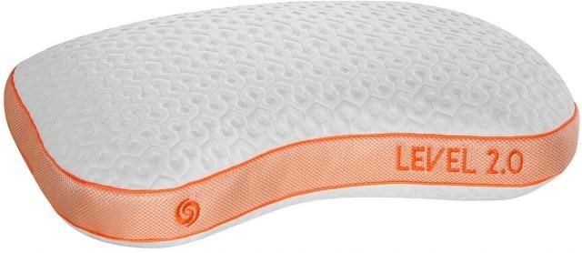bedgear level 2 0 series performance pillow levelp 2 0