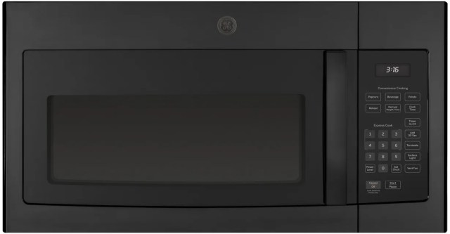 ge over the range microwave oven black jvm3160dfbb