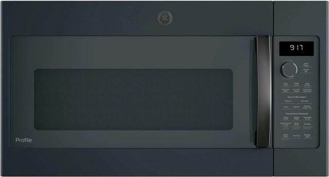 ge profile 29 88 black slate over the range microwave pvm9179flds