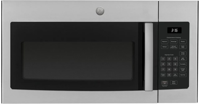 ge over the range microwave oven stainless steel jvm3160rfss