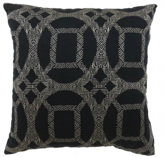 furniture of america dior black small set of 2 throw pillows pl6026s 2pk
