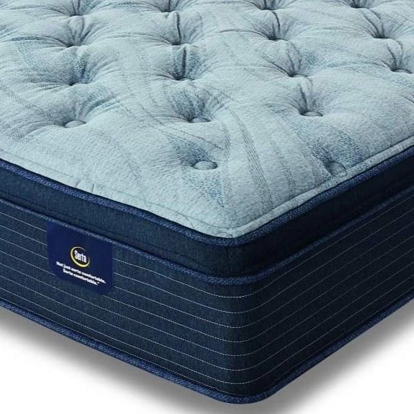 serta luxe edition grandmere plush pillow top queen mattress 500782823 1050