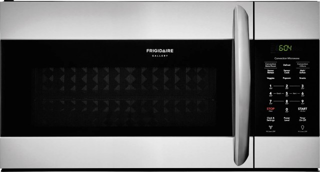 frigidaire gallery 1 5 cu ft stainless steel over the range microwave fgmv155ctf